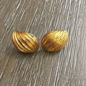 Vintage Anne Klein Stamped Earrings